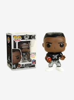 FUNKO NFL LEGENDS POP! FOOTBALL BO JACKSON VINYL FIGURE