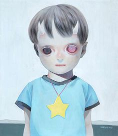 Starry-Eyed Kid Illustrations - These Children's Portraits by Hikari Shimoda Show Hopeful Youth (GALLERY)