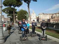 Discover Rome by Segway with www.italysegwaytours.com