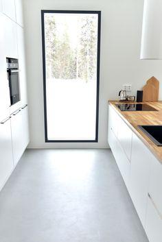 Kannustalon Lato - Puusellin keittiö Kitchen Dining, Kitchen Decor, Kitchen Ideas, Lets Stay Home, Home Organisation, Interior Decorating, Interior Design, My Dream Home, Home Kitchens