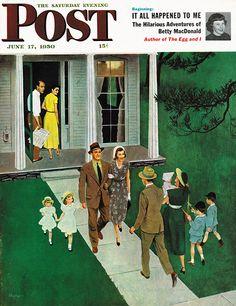 """Sunday Visitors"" – George Hughes"