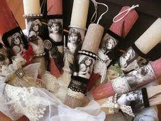 Λαμπαδες!!!! Easter Ideas, Decoupage, Candles, Decoration, Spring, Decorating, Dekoration, Decorations, Embellishments
