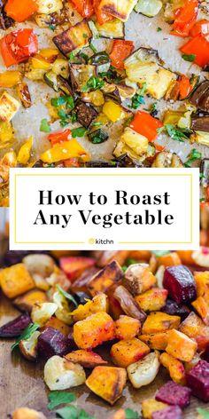 Roasted Vegetable Recipes, Veggie Recipes, Dinner Recipes, Healthy Recipes, Whole30 Recipes, Side Recipes, Healthy Meals, Beef Recipes, Salad Recipes