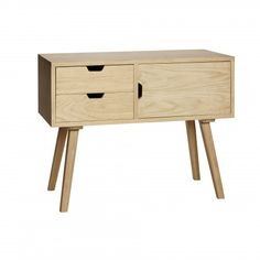 Solid Oak Sideboard | Design Vintage