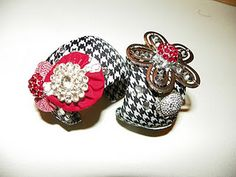a couple of cuff bracelets I put together this afternoon
