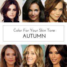 Color For Skin Tone: Autumn