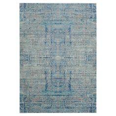 Teppich Abella Vintage - Kunstfaser - Hellblau - Hellblau / Blaugrau - 152 x 243 cm, Safavieh Jetzt bestellen unter: https://moebel.ladendirekt.de/heimtextilien/teppiche/teppichboden/?uid=e3aa8097-092c-59fd-9c84-be1be7163a8a&utm_source=pinterest&utm_medium=pin&utm_campaign=boards #accessoires #teppichboden #kurzflorteppiche #heimtextilien #teppiche #safavieh
