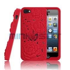 MiniSuits new soft silicone case for Apple iPhone 5 features a unique Flower Garden design! This innovative case protects with funky fresh function. Colors of the case pop in 3 dimensional effect to instantly give smart suaveness and style. Latest Iphone, New Iphone, Iphone 5 Cases, 5s Cases, Flower Garden Design, Flower Designs, Apple Iphone 5, Cool Items, Ipad