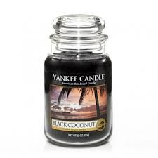 Yankee Candle Black Coconut - this new scent is AMAZING...I hope they decide to keep this year round instead of just seasonally