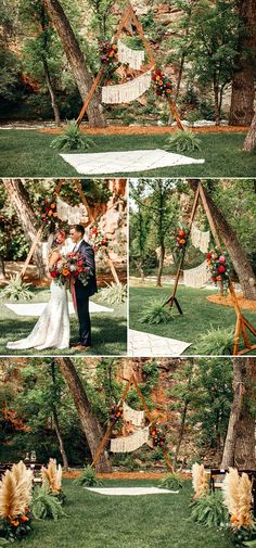 Floral ceremony arches will be in style regardless of the year, season, or trend! Get inspired by these gorgeous floral ceremony arches for your wedding.
