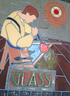 The Henry Ford | Greenfield Village | Dearborn, Michigan | Glass Making | Detroit