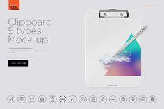 Clipboard Mock-up by mesmeriseme.pro on @creativemarket