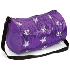 Star Sequin Duffle Dance Bag Balera 75 Liked On Polyvore Sparkling Stars