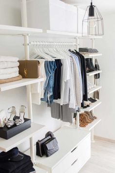 Fall is coming! While adding new pieces to your repertoire is a must, it's crucial to first clean out and reorganize your closet.