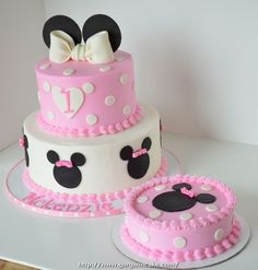 Minnie Mouse Cakes For 1St Birthday