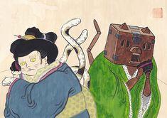 出来なかった事が出来る様になる幸せ。 始まりは何事も楽しい。 待ち受けている結果がどうであれ。 #art #illustration #japan #cat #Watercolor #猫 #イラスト #日本画 #アート Illustration, Cute, Beautiful, Kawaii, Illustrations