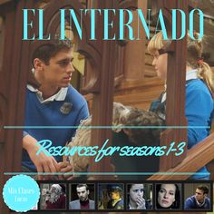 Here is a place to hopefully organize resources for using the Spanish TV show El Internado: Laguna Negra in Spanish class. We watc. Spanish Tv Shows, Ap Spanish, Spanish Culture, Spanish Lessons, Spanish Heritage, High School Spanish, Spanish Teacher, Spanish Language Learning, Teaching Spanish