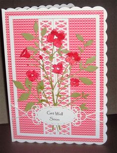 Get Well Soon   docrafts.com Get Well Soon, I Card, Wellness, Projects, Log Projects, Blue Prints, Get Well