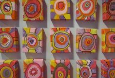 Abstract boxes. Could be paper mached first...