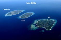 Les îles Gilis                                                                                                                                                                                 Plus