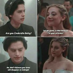 Just me when talking to my crush The post Just me when talking to my crush appeared first on Riverdale Memes. Riverdale Quotes, Riverdale Funny, Bughead Riverdale, Memes Humor, Funny Jokes, Hilarious, Funny Movie Quotes, Funy Memes, Funniest Memes