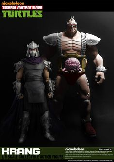 Teenage Mutant Ninja Turtles Krang Scale Figure Teaser - The Toyark - News Ninja Turtles 2, Ninja Turtles Action Figures, Teenage Mutant Ninja Turtles, Ninja Turtle Drawing, Shredder Tmnt, Custom Action Figures, Retro Toys, Cosplay, Special Characters