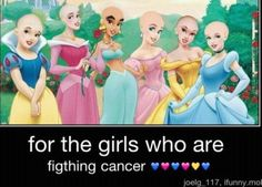 Disney Princess Cancer Fighters!