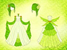 Elf Dress Design by Eranthe on DeviantArt Manga Clothes, Drawing Clothes, Anime Dress, Dress Drawing, Character Outfits, Anime Outfits, Fashion Sketches, Costume Design, Designs To Draw