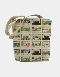 RECord Tape Tote Bag