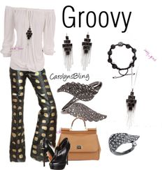 """""""Groovy"""" by carolynsbling on Polyvore"""