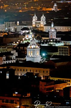 I was born right here : San Francisco de Quito!