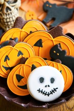 Halloween Iced Cookies Recipe