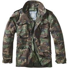 Brandit M-65 Classic Jacket Woodland | M65 | Military 1st