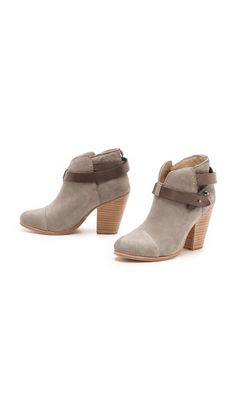 Rag & Bone Harrow Booties... Bought these boots...love them...had to buy in black too.