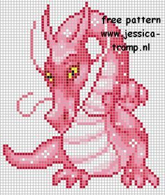 Small Dragon Cross Stitch Patterns Free | Free cross stitch patterns designs dragon