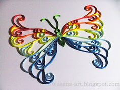 Quilling: another Butterfly