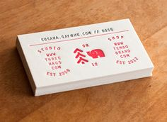 Tembo by Threehaus Business Cards Printing by Hobo Pres