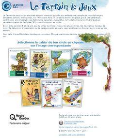 Une très belle collection d'exercices axés sur l'apprentissage du français pour les enfants de 5 à 12 ans.