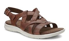 6303e60579f0 Get the ECCO Babett Sandal now from ECCO Shoes in Mahogany for only £… Robin  Elt Shoes · Ecco Ladies Shoes