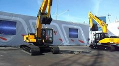 Sany Excavator Demo at ConExpo 2014 -   MUST SEE