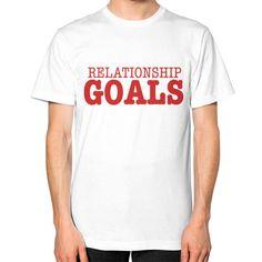 Relationship Goals Tee - Red