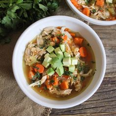 Cure-All Chicken Soup with Quinoa and Sweet Potatoes. Packed with restorative goodness!