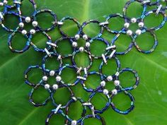 Video Tutorial for Beaded Flower Cluster Necklace - JEWELRY AND TRINKETS
