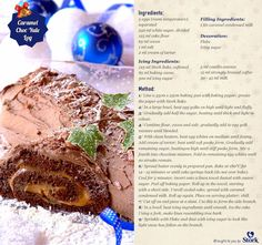 This delicious treat is perfect for any time of the year, and especially for Baking Recipes, Dessert Recipes, Desserts, Stork Recipes, Yummy Treats, Yummy Food, Delicious Recipes, Chocolate Log, Icing Ingredients