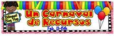 """Maestra Sandoval: """"Un carnaval de recursos"""" BILINGUAL BLOG HOP"""