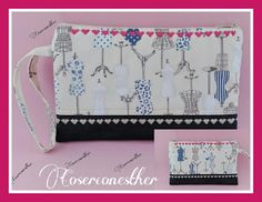 CoserconEsther: Clutch de Maniquis Bags, Totes, Coin Purses, Tutorials, Patrones, Crafts, Purses, Tote Bag, Lv Bags