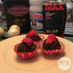 Super-Charged Chocolate Raspberry Fat Bombs To The Rescue!