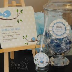 """""""feather her nest"""" baby shower"""
