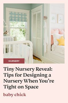 Expecting a baby and working with a small space? Check out this tiny nursery reveal with our space-saving baby recommendations. #nurseryreveal #tinynursery Kid Friendly Rugs, Labor Nurse, Diaper Pail, Pregnancy Stages, Nursing Pillow, Expecting Baby, Baby Chicks, Nursery Neutral, Nursery Design