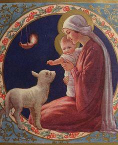 Vintage...Holy Mother and Infant Jesus